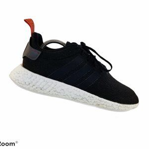Adidas NMD_R2 Core Black Future Harvest White Red